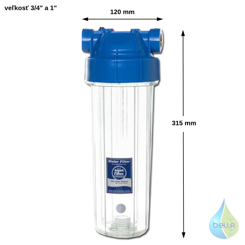 Filter Aquafilter FHPR1-B1-AQ 1""